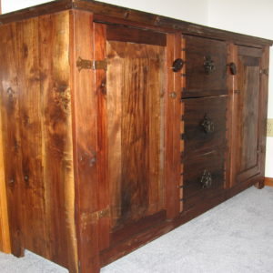 Carcass Sideboard (Walnut)