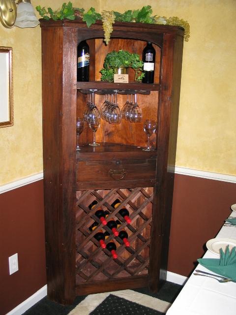 Corner Wine Cabinet Cupboard Rvp 1875