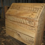 Drop Lid Closed (Spalted Maple) - Unfinished
