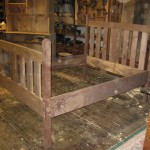 Slat Back Bed