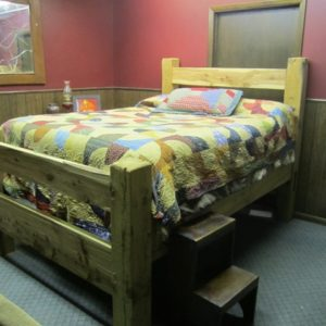 Barn Beam Bed