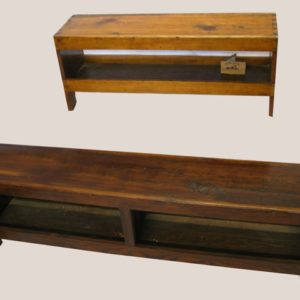 Dovetail Bench with Storage