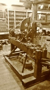 Foot-powered Lathe