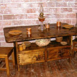 Settle Table (Birch)